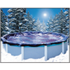 Bâche à bulles hiver hors-sol